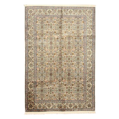 O Valley Hand-Knotted Beige Area Rug
