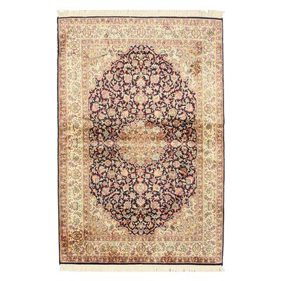 Pachore Hand-Knotted Brown/Beige Area Rug