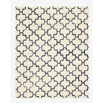 Palai Hand-Woven Beige Area Rug Rug Size: Rectangle 5 x 8