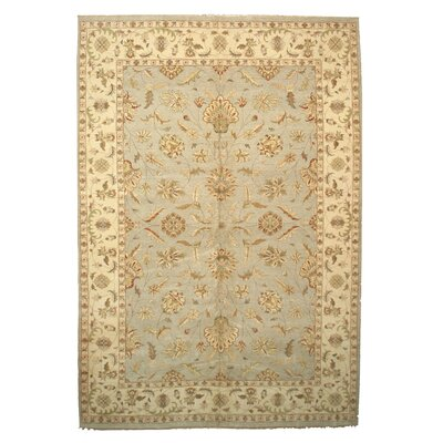 Dozier Knotted Gray Area Rug