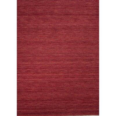 Pihani Hand-Woven Red Area Rug Rug Size: 2 x 3