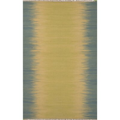 Pilkhuwa Linden  Beige/Blue Area Rug Rug Size: 5 x 8