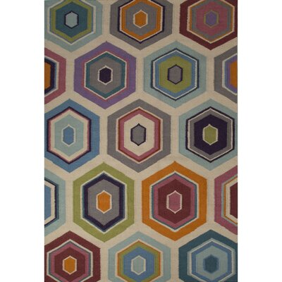 Piriyapatna Gray/Blue  Area Rug Rug Size: Rectangle 5 x 8