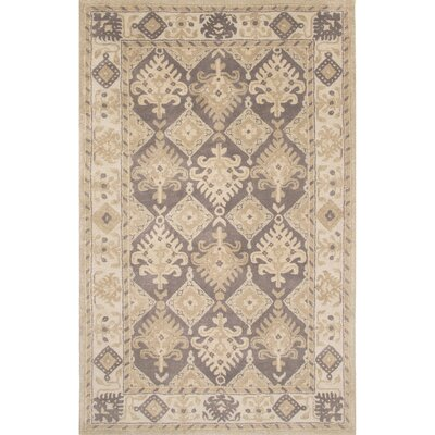 Pithoragarh Hand-Tufted Beige Area Rug Rug Size: Rectangle 2 x 3