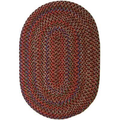 Rayada Red Indoor/Outdoor Area Rug Rug Size: Oval 2 x 3