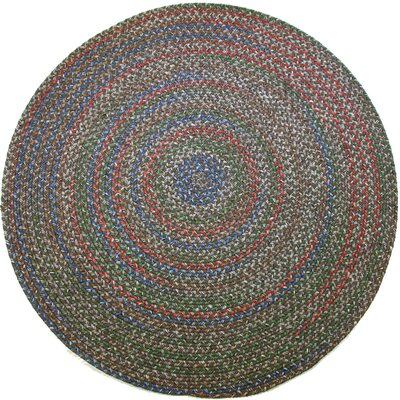 Reengus Brown/Red Indoor/Outdoor Area Rug Rug Size: Round 8