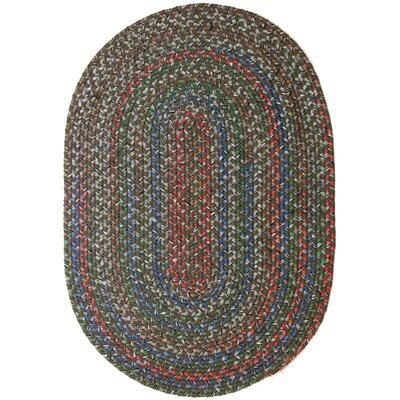 Reengus Brown/Red Indoor/Outdoor Area Rug Rug Size: Oval 7 x 9