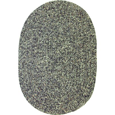 Renigunta Gray Indoor/Outdoor Area Rug Rug Size: Oval 7 x 9