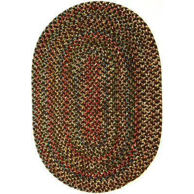 Renukoot Brown Indoor/Outdoor Area Rug Rug Size: Oval 2 x 3