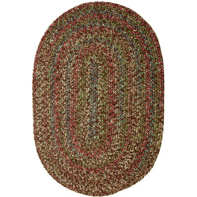 Valla Brown Indoor/Outdoor Area Rug Rug Size: Oval 2 x 3