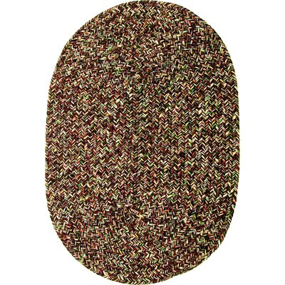 Rishikesh Brown Indoor/Outdoor Area Rug Rug Size: Oval 2 x 3