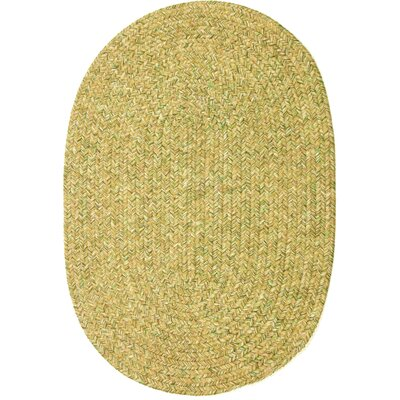 Risod Oatmeal Tweed Indoor/Outdoor Area Rug Rug Size: Oval 4 x 6