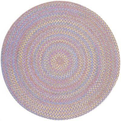 Sadri Violet Indoor/Outdoor Area Rug Rug Size: Round 10