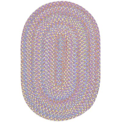 Sadri Violet Indoor/Outdoor Area Rug Rug Size: Oval 2 x 3