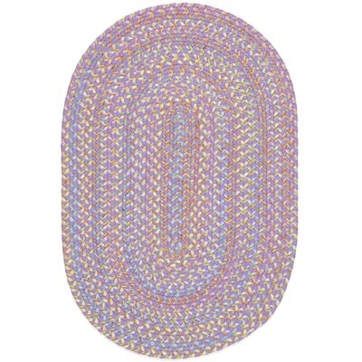 Sadri Violet Indoor/Outdoor Area Rug Rug Size: Oval 7 x 9