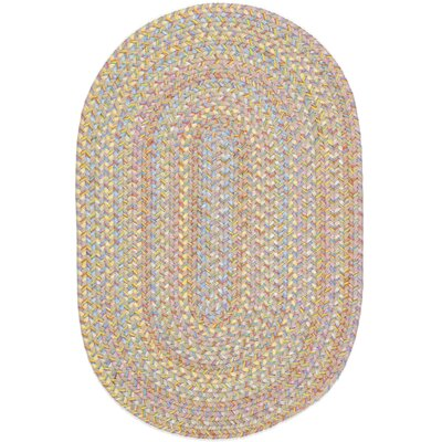 Safidon Beige Indoor/Outdoor Area Rug Rug Size: Oval 4 x 6