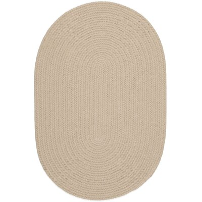 Safipur Sand Beige Indoor/Outdoor Area Rug Rug Size: Oval 2 x 3