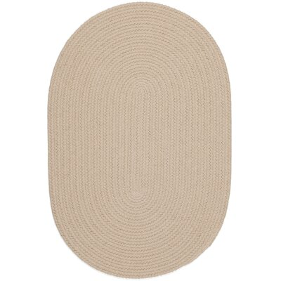 Safipur Sand Beige Indoor/Outdoor Area Rug Rug Size: Oval 2 x 4