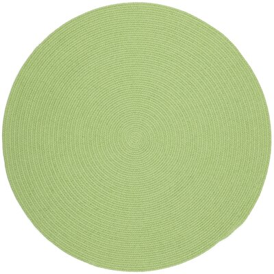 Sagara Lime Indoor/Outdoor Area Rug Rug Size: Round 10