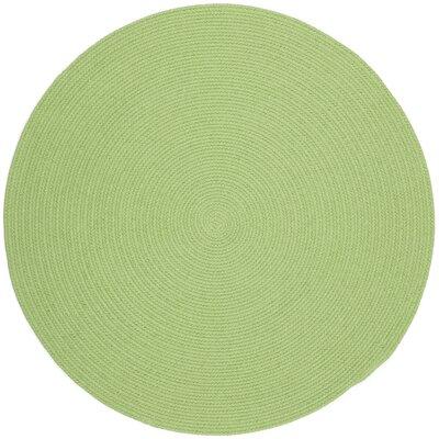 Sagara Lime Indoor/Outdoor Area Rug Rug Size: Round 10