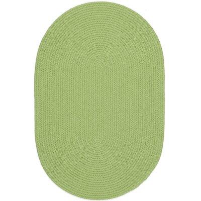 Sagara Lime Indoor/Outdoor Area Rug Rug Size: Oval 5 x 8