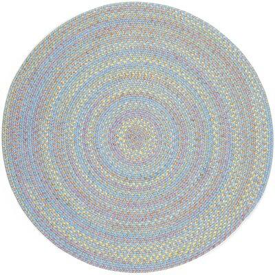 Sahawar Blue Indoor/Outdoor Area Rug Rug Size: Round 8