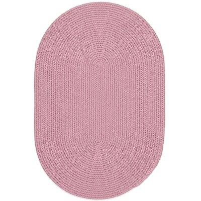 Sahibganj Pink Indoor/Outdoor Area Rug Rug Size: Oval 10 x 13