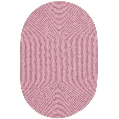 Sahibganj Pink Indoor/Outdoor Area Rug Rug Size: Oval 7 x 9