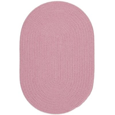 Sahibganj Pink Indoor/Outdoor Area Rug Rug Size: Oval 8 x 11