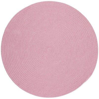 Sahibganj Pink Indoor/Outdoor Area Rug Rug Size: Round 8