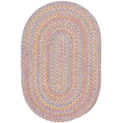 Saidpur Pink Indoor/Outdoor Area Rug Rug Size: Oval 2 x 3