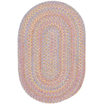 Saidpur Pink Indoor/Outdoor Area Rug Rug Size: Oval 2 x 4