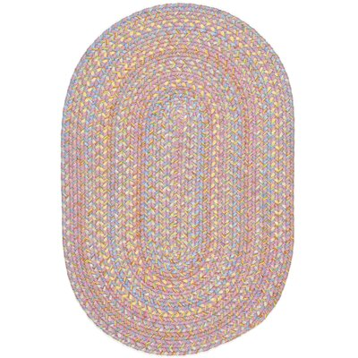 Saidpur Pink Indoor/Outdoor Area Rug Rug Size: Oval 8 x 11