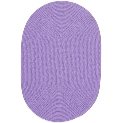 Sainthia Violet Indoor/Outdoor Area Rug Rug Size: Oval 2 x 6