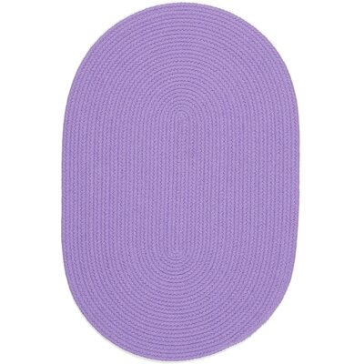Sainthia Violet Indoor/Outdoor Area Rug Rug Size: Oval 4 x 6