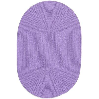 Sainthia Violet Indoor/Outdoor Area Rug Rug Size: Oval 3 x 5