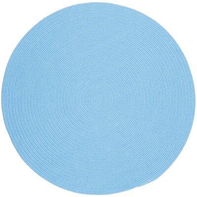 Sakti Blue Indoor/Outdoor Area Rug Rug Size: Round 4