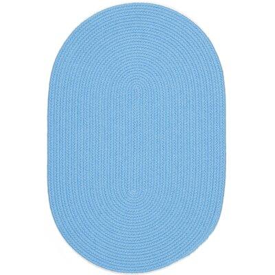 Sakti Blue Indoor/Outdoor Area Rug Rug Size: Oval 5 x 8