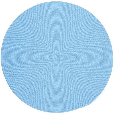Sakti Blue Indoor/Outdoor Area Rug Rug Size: Round 10