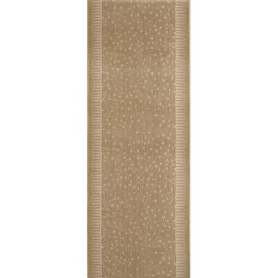 Samana Brown/Tan Area Rug Rug Size: Runner 22 x 6