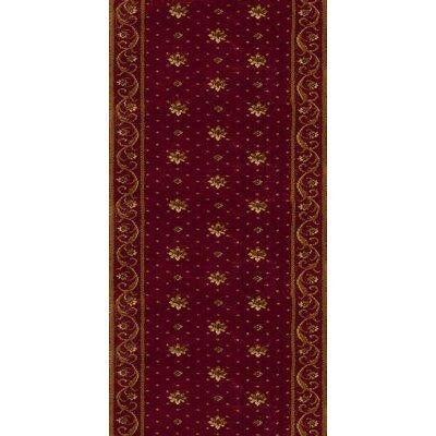 Sambhar Red Area Rug Rug Size: Runner 27 x 12