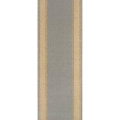 Sanawad Grey Area Rug Rug Size: Runner 27 x 12