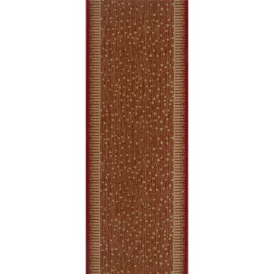 Sarsod Red Area Rug Rug Size: Runner 27 x 8