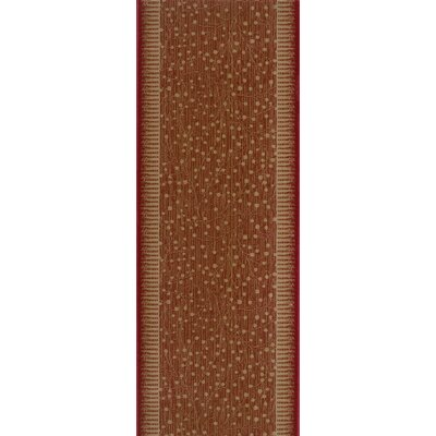 Sarsod Red Area Rug Rug Size: Runner 27 x 12