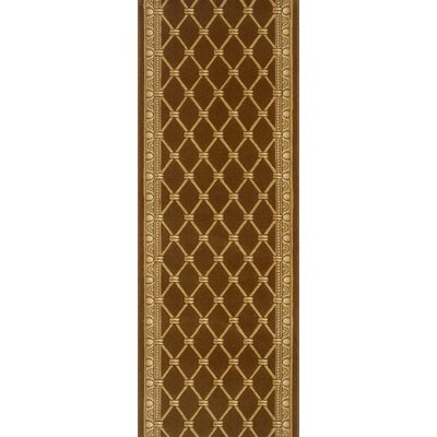 Sindagi Brown Area Rug Rug Size: Runner 27 x 6