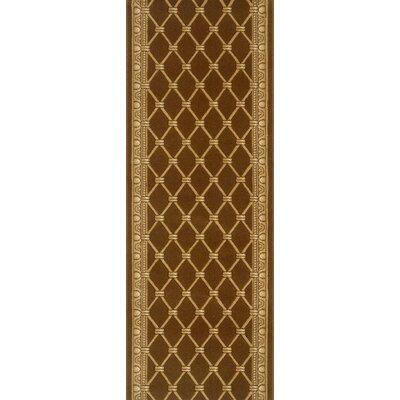 Sindagi Brown Area Rug Rug Size: Runner 27 x 8