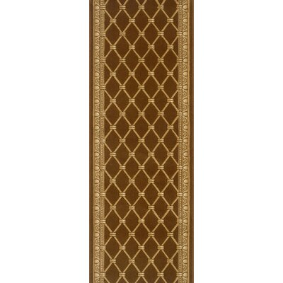 Sindagi Brown Area Rug Rug Size: Runner 22 x 15