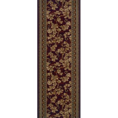 Sandila Red Area Rug Rug Size: Runner 27 x 8
