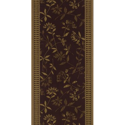 Sanduru Brown Area Rug Rug Size: Runner 27 x 8