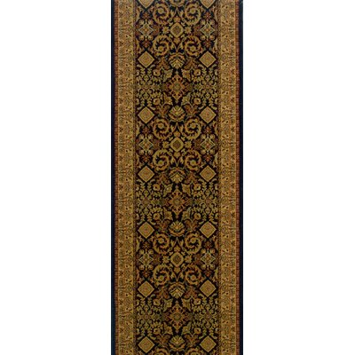 Sangareddy Brown Area Rug Rug Size: Runner 22 x 15